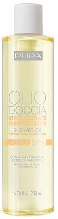Pupa Revitalizáló, (Revitalizing Energizing Shower Oil) tusolóolaj Home Spa Olio Doccia 200 ml