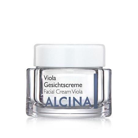 Alcina Vyživujúce a upokojujúci krém pre vysušenú pleť Viola (Facial Cream Viola) (Objem 50 ml)