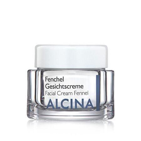 Alcina Krem intensywnie pielęgnujący do bardzo suchej skóry Fenchel (Facial Cream Fennel) (objętość 50 ml)