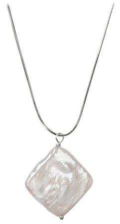 JwL Luxury Pearls Stříbrný náhrdelník s pravou perlou JL0392 stříbro 925/1000