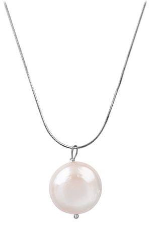 JwL Luxury Pearls Ezüst nyaklánc igazgyönggyel JL0404 ezüst 925/1000