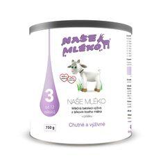 Naše mléko 3 (12 m+) 750 g