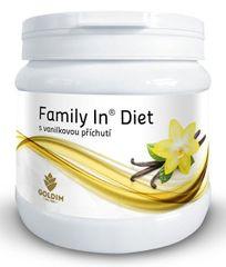 Family In Diet s vanilkovou příchutí 12 porcí