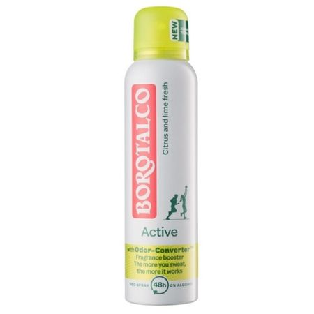 Borotalco Dezodorant w sprayu o zapachu cytrusowym Active 150 ml