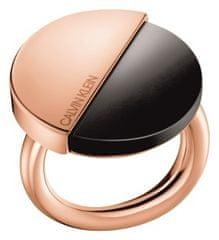 Calvin Klein Luksusowy pozłacany pierścionek Spicy KJ8RBR1401