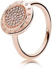Pandora Bronzový prsten s třpytivými kamínky 180912CZ f419098c867