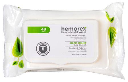 Vlhčené ubrousky na hemoroidy Multipack 48 ks