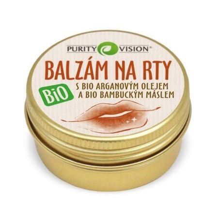 Purity Vision Ošetrujúce BIO balzam na pery s BIO arganovým olejom 12 ml