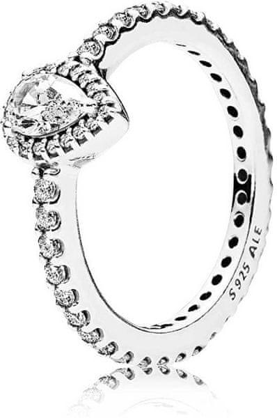 Pandora Trpytivy Stribrny Prsten 196254cz Obvod 50 Mm Stribro 925