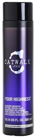 Tigi Catwalk Your Highness haj (Elevating Shampoo) (mennyiség 300 ml 615908421385 )
