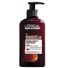 L'Oréal Gél na fúzy, tvár a vlasy Barber Club Gel 3v1 (Beard, Face & Hair Wash) 200 ml