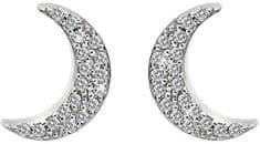 Hot Diamonds Stříbrné půlměsícové náušnice Micro Bliss DE553 stříbro 925/1000