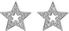 Hot Diamonds Stříbrné hvězdičkové náušnice Micro Bliss DE554 stříbro 925/1000