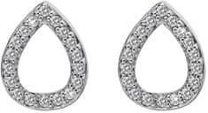 Hot Diamonds Stříbrné náušnice slzičky Micro Bliss DE555 stříbro 925/1000
