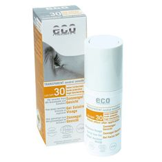 Eco Cosmetics Opalovací transparentní gel na obličej SPF 30(30ml)