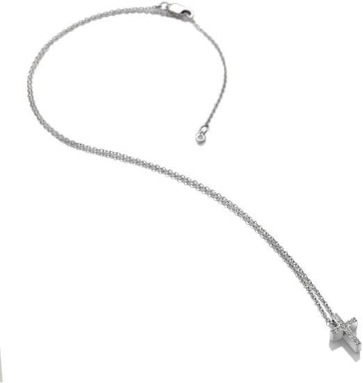 Hot Diamonds Srebrny naszyjnik z Micro Bliss DP696 srebro 925/1000