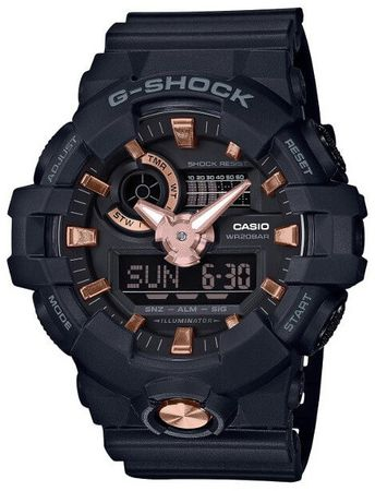 CASIO TheG/G-SHOCK GA 710B-1A4