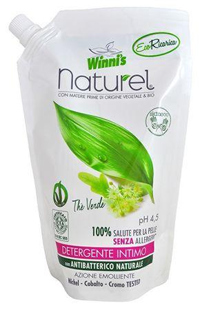 NATUREL Sapone Intimo Ecoricaria The Verde tekuté mýdlo pro intimní hygienu se zeleným čajem - náhra
