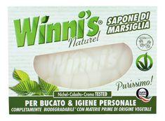 Winni´s Sapone Marsiglia tuhé mýdlo pro osobní hygienu i ruční praní 250 g