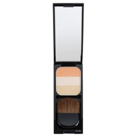 Shiseido Multifunkční rozjasňovač (Face Color Enhancing Trio) 7 g (Odstín OR1 Peach)