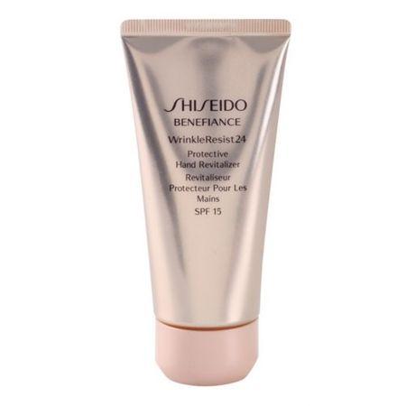 Shiseido Helyreállítása védő kézkrém Benefiance ráncok Resist 24 SPF 15 ( Protective Hand Revitalizer) 75 ml