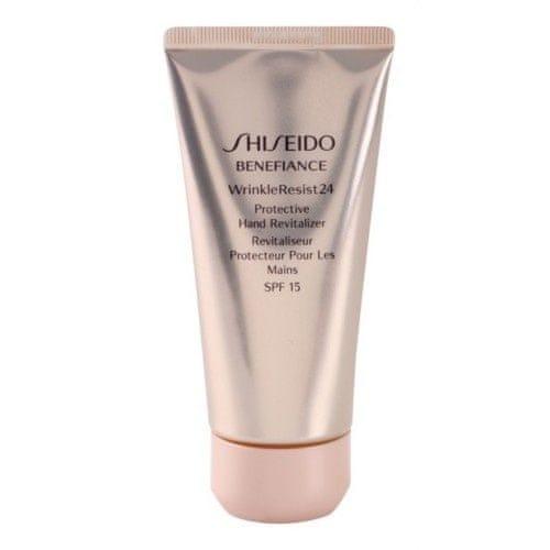 Shiseido Obnovující a ochranný krém na ruce Benefiance WrinkleResist24 SPF 15 (Protective Hand R