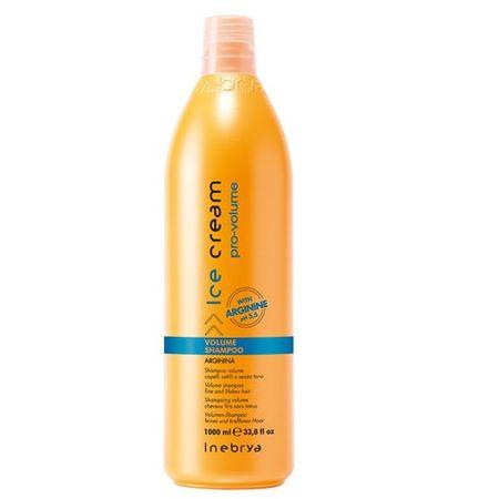 Inebrya Ice Cream Pro-Volume hajdúsító sampon vékonyszálú hajra (Volume Shampoo) (mennyiség 300 ml)