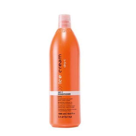 Inebrya Kondicionér pre suché a poškodené vlasy Ice Cream Dry-T (Conditioner) 1000 ml