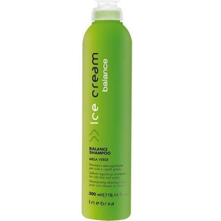Inebrya Ice Cream Balance sampon zsíros hajra(Balance Shampoo) 300 ml