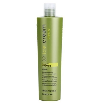 Inebrya Ice Cream korpásodás elleni sampon (Cleany Shampoo) 300 ml