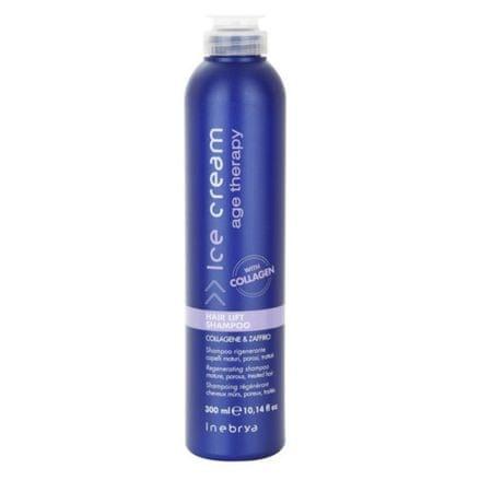 Inebrya Ice Cream Age Therapy regeneráló sampon érett és kémiailag kezelt hajra(Hair Lift Shampoo) 300 ml