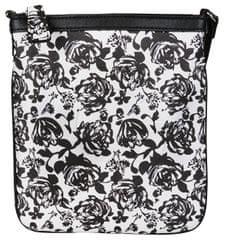 Guess Dámská kabelka Gilman Floral Crossbody Black Multi