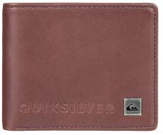 Quiksilver Kožená peněženka Mack VI Chocolate Brown L EQYAA03692-CSD0