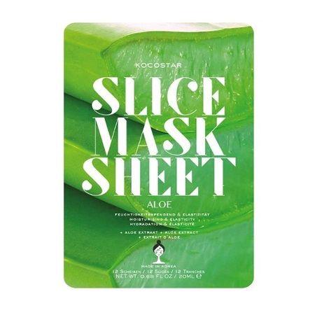 Kocostar Nawilżająca maseczka nawilżająca Aloes (Slice Sheet Mask) 20 ml