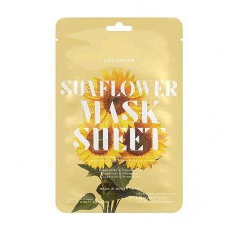 Kocostar Napraforgó revitalizáló darabos arcmaszk (Slice Sheet Mask) 20 ml