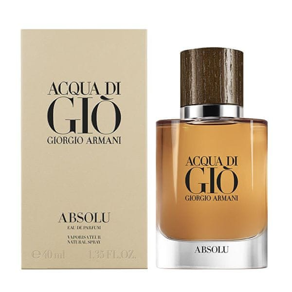 Giorgio Armani Acqua Di Gio Absolu - EDP 1 ml - odstřik