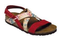 SANTÉ Zdravotní obuv dámská IB/7209 červeno-bílá