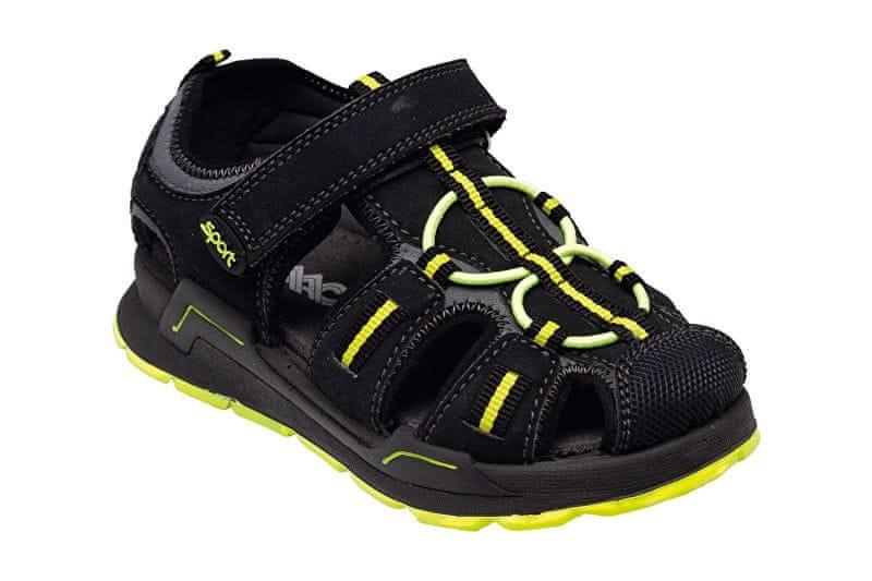 9ed294d7a7d SANTÉ Zdravotní obuv dětská IC 132750 Nero (Velikost vel. 35)
