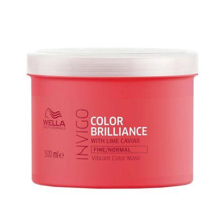 Wella Professional Maseczka do delikatnych włosów farbowanych Invigo Brilliance Color Invigo Brilliance (Vibrant Mask)