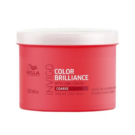 Wella Professional Maska do grubych, farbowanych włosów Invigo Brilliance Color Invigo Brilliance (Vibrant Mask) Color