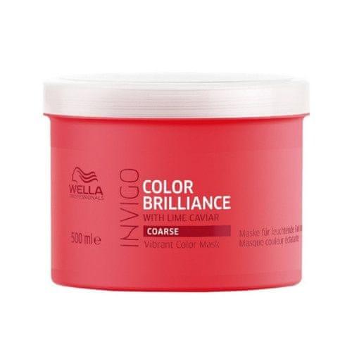 Wella Professional Maska pro hrubé barvené vlasy Invigo Color Brilliance (Vibrant Color Mask) (Objem 150 ml)