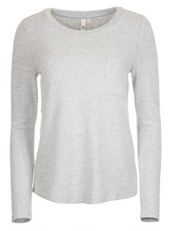 Q/S designed by Dámske tričko 45.899.31.0494.9400 Grey Melange (Veľkosť XS)