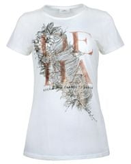 Deha Dámske tričko T-Shirt B84150 Snow