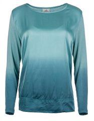 Deha Dámská halenka Long Sleeve Tee D83570 Blue Tiffany