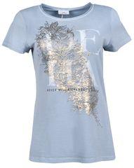Deha Dámske tričko T-Shirt B84150 Dusty Blue
