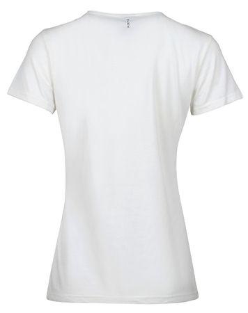 Deha Dámské triko T-Shirt B84150 Snow (Velikost L)  98d17bc06f