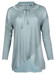 Deha Dámske tričko Highneck L/S Tee B84390 Mineral Blue