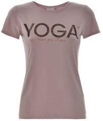 Deha Dámske tričko T-Shirt B84670 Lilac