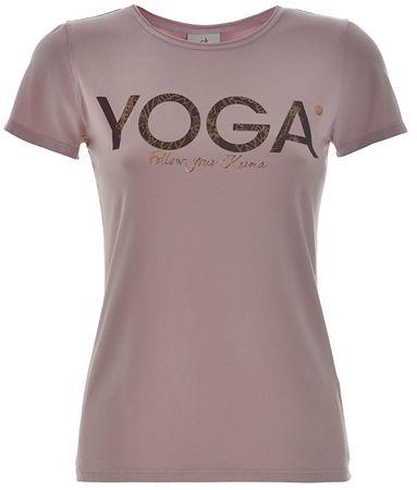 Deha Dámske tričko T-Shirt B84670 Lilac (Veľkosť L)