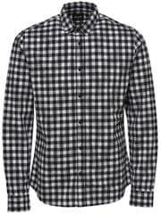 ONLY&SONS Férfi ingGordey LS Checkandprint Shirt Black
